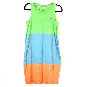 marimekko Color Block Sleeveless Maxi Dress